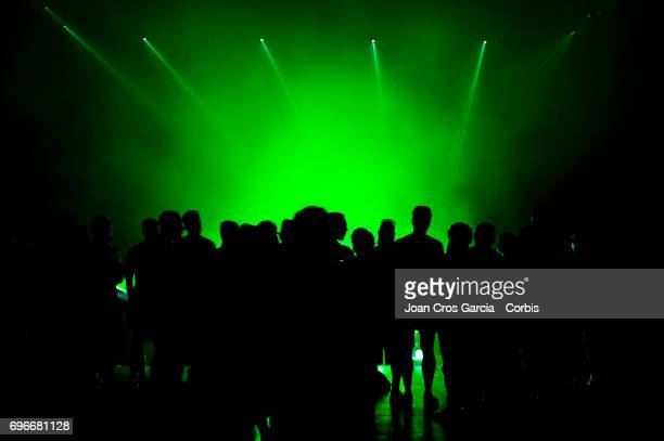 Public watching the new Sonar Planta performance during the first day of Sonar Music Festival on June 15 2017 in Barcelona Spain
