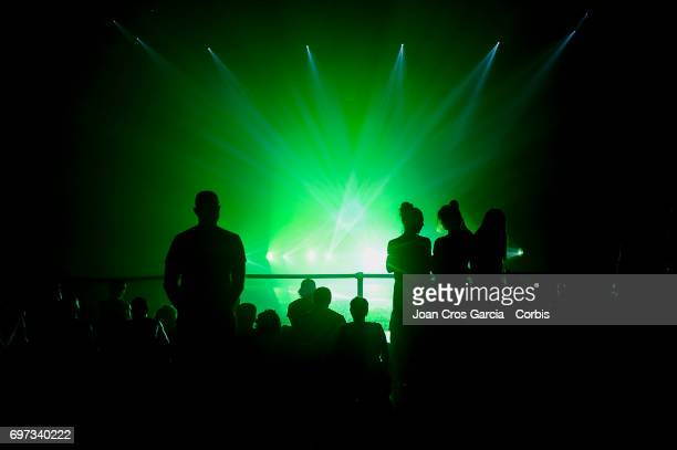 Public watching the new Sonar Planta performance during the last day of Sonar Music Festival on June 17 2017 in Barcelona Spain