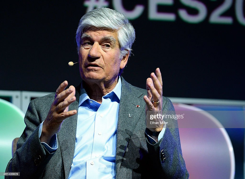 Publicis Groupe Chairman and CEO <a gi-track='captionPersonalityLinkClicked' href=/galleries/search?phrase=Maurice+Levy&family=editorial&specificpeople=588854 ng-click='$event.stopPropagation()'>Maurice Levy</a> speaks during the Brand Matters keynote address at the 2014 International CES at The Las Vegas Hotel & Casino on January 8, 2014 in Las Vegas, Nevada. CES, the world's largest annual consumer technology trade show, runs through January 10 and is expected to feature 3,200 exhibitors showing off their latest products and services to about 150,000 attendees.