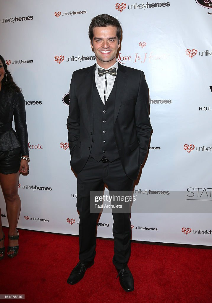 Publicist Ben Decker attends the 'Love Is Heroic' - The Unlikely Heroes annual spring benefit at the W Hollywood on March 21, 2013 in Hollywood, California.