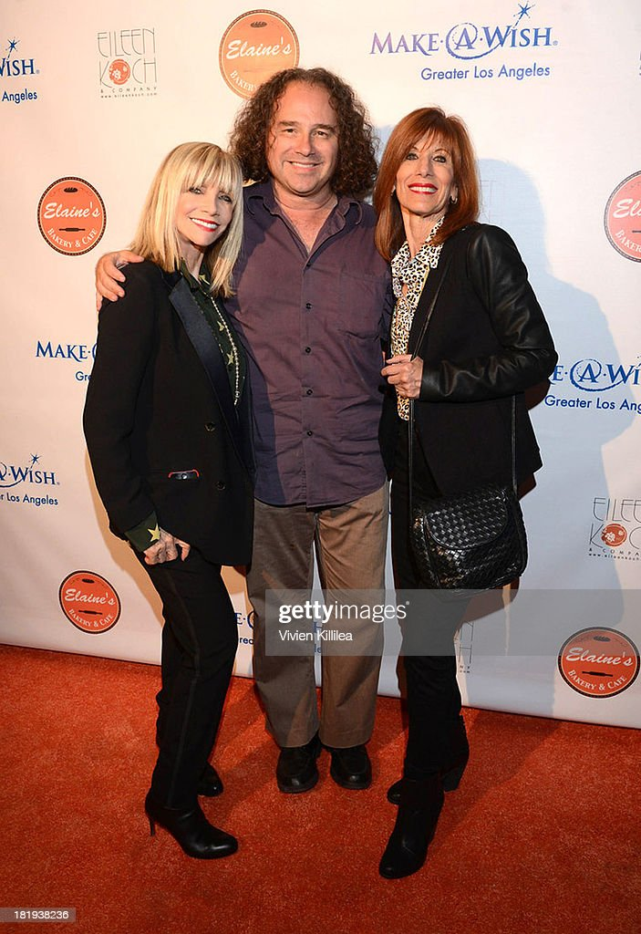 Publicist Eileen Koch, entertainment journalist Harrison Held and stylist Carol Ransier attend Elaine's Bakery And Cafe Celebrates Grand Opening At Brentwood Gardens on September 24, 2013 in Los Angeles, California.