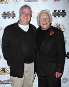 Publicist Gary Springer and actor/voice of Boar's Head Joe Sirola attend the opening night party for the 2013 First Time Fest at The Players Club on...