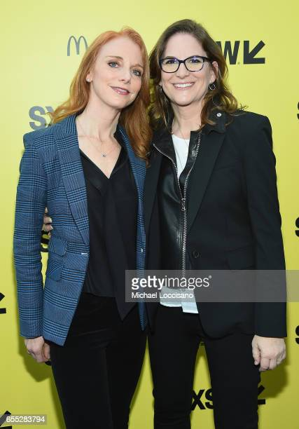 Publicist Lisa Feldsher and Producer Dana Goldberg attend the 'Life' premiere during 2017 SXSW Conference and Festivals at the ZACH Theatre on March...