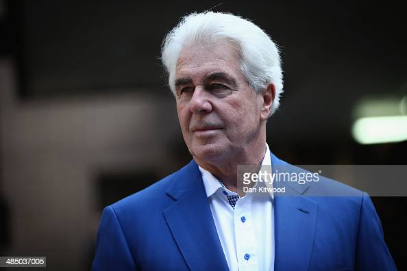 Publicist Max Clifford arrives at Southwark Crown Court on April 16 2014 in London England Mr Clifford a public relations expert has pleaded not...