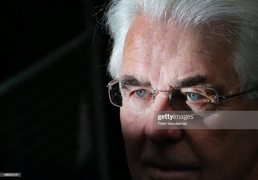 Publicist Max Clifford arrives at Southwark Crown Court on April 22, 2014 in London, England. The jury has retired to consider the 11 charges of indecent assault against Mr Clifford.