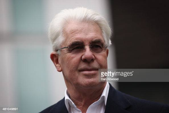 Publicist Max Clifford arrives at Southwark Crown Court on March 28 2014 in London England Mr Clifford a public relations expert has pleaded not...