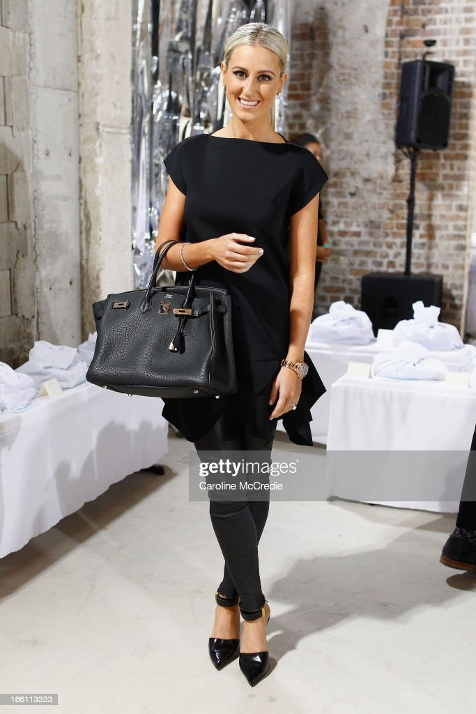 Publicist Roxy Jacenko attends the Ellery show during Mercedes-Benz Fashion Week Australia Spring/Summer 2013/14 at an offsite venue on April 9, 2013 in Sydney, Australia.