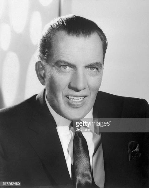 Publicity handout of columnist and television personality Ed Sullivan