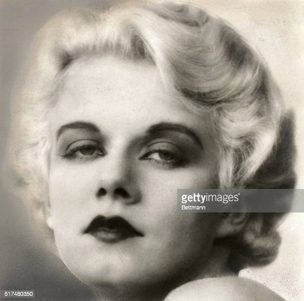 A publicity photo of Jean Harlow early in her career