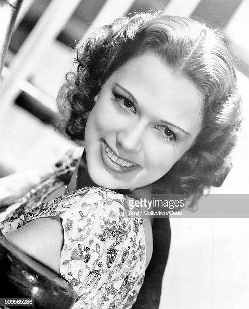 A publicity photograph of Eleanor Powell an American dancer and actress best known for her tap dancing in musical films during the 1930s and 1940s...