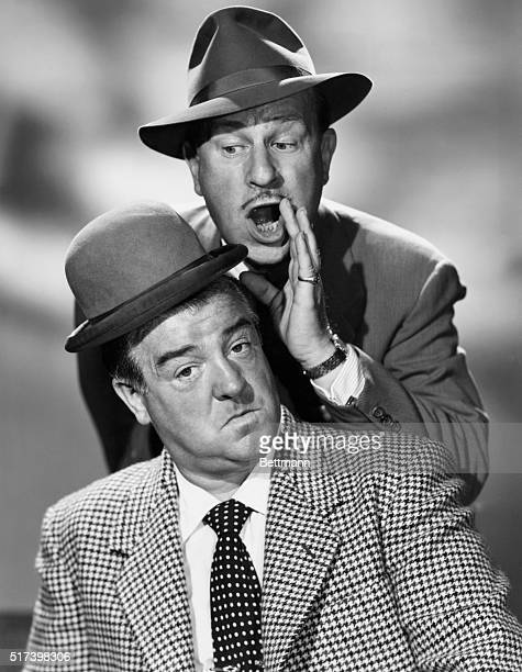 Publicity portrait of Abbott and Costello Undated photograph