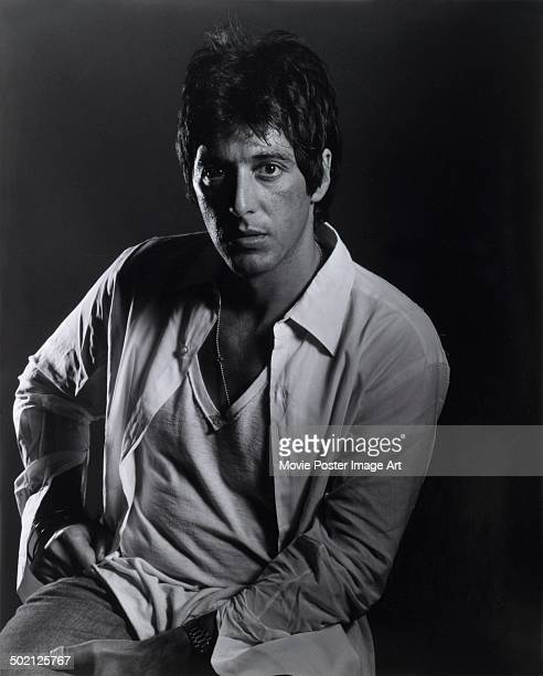 Publicity shot of American film and stage actor Al Pacino circa 1980