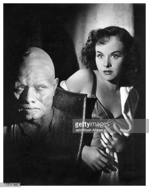 Publicity still from the film 'The Ghost Breakers' starring Noble Johnson and Paulette Goddard 1940