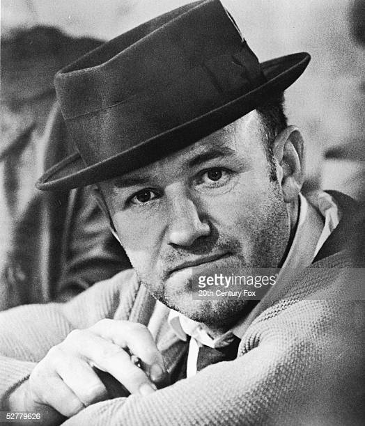 Publicity still of American actor Gene Hackman in a hat for the film 'The French Connection' directed by William Friedkin 1971 The film won 5 Oscars...