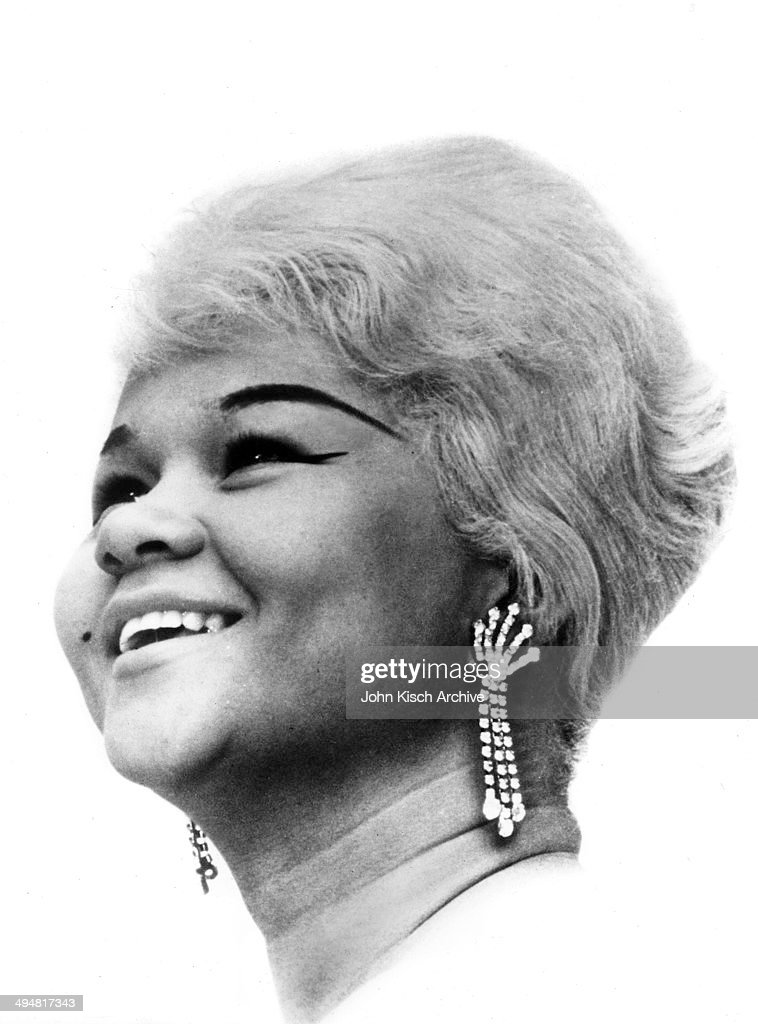 Publicity still portrait of American singer <a gi-track='captionPersonalityLinkClicked' href=/galleries/search?phrase=Etta+James&family=editorial&specificpeople=833123 ng-click='$event.stopPropagation()'>Etta James</a> (1938 - 2012), 1962.