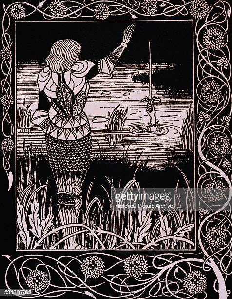 'Published in Le Morte D'Arthur by Sir Thomas Malory 1893 '
