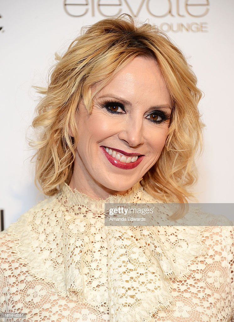 Publisher Alison Miller arrives at the Los Angeles Confidential and Harmony Project GRAMMY after party honoring Mary J. Blige at Elevate Lounge on February 10, 2013 in Los Angeles, California.