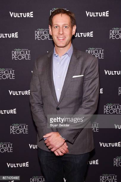 Publisher and CRO at New York Media Avi Zimak attends Vulture Hulu's screening of 'Difficult People' on August 7 2017 in New York City