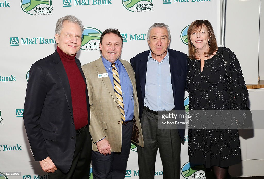 Publisher Arthur Sulzberger Jr Executive Director at Mohonk Preserve Glenn Hoagland actor Robert De Niro and cofounder of the Tribeca Film Festival...