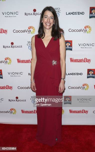 Publisher CRO of Woman's Day Kassie attends the 14th annual Woman's Day Red Dress Awards at Jazz at Lincoln Center on February 7 2017 in New York City