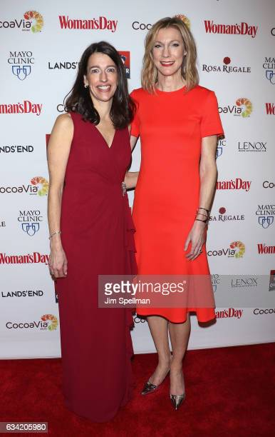 Publisher CRO of Woman's Day Kassie Means and editor in chief of Woman's Day Susan Spencer attend the 14th annual Woman's Day Red Dress Awards at...