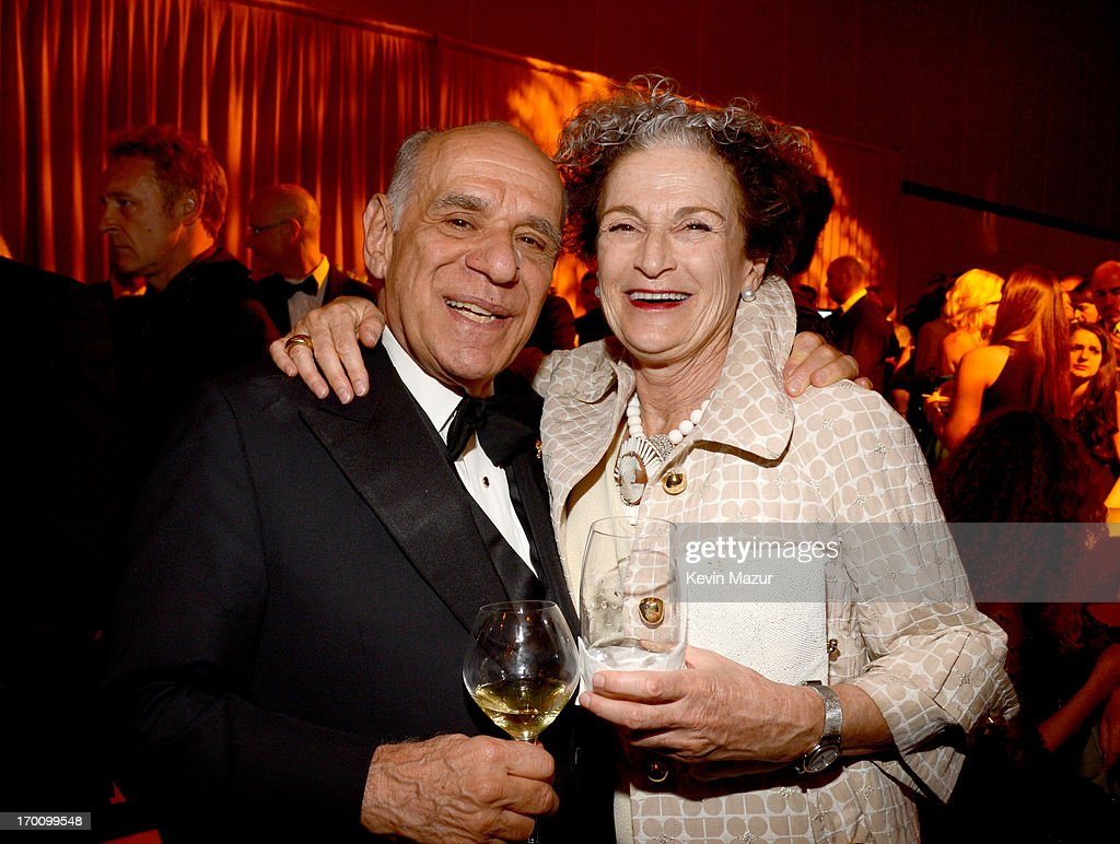 Publisher Howard Kaminsky and agent Madeleine Morel attend the after party for AFI's 41st Life Achievement Award Tribute to Mel Brooks at Dolby Theatre on June 6, 2013 in Hollywood, California. 23647_004_KM_1894.JPG
