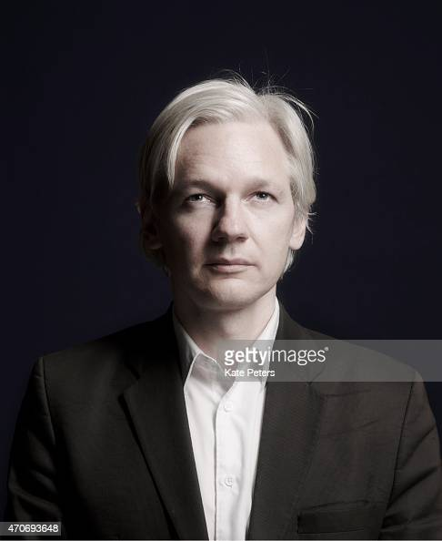 Publisher journalist and editorinchief of the website WikiLeaks Julian Assange is photographed for Time magazine July 27 2010 in London England