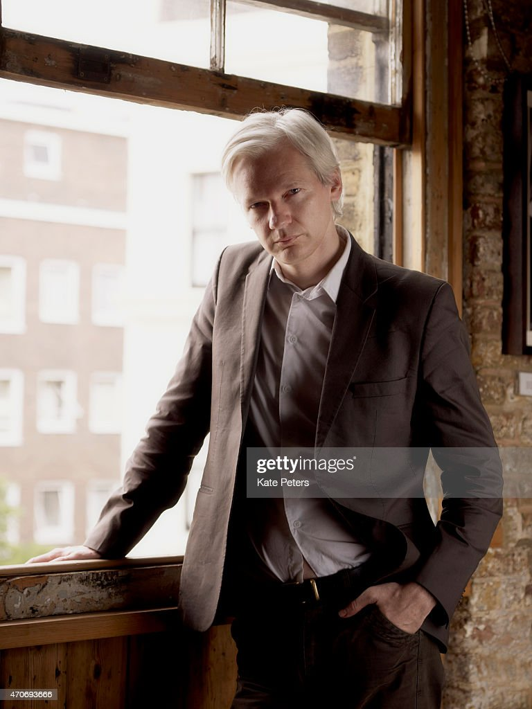 Publisher, journalist and editor-in-chief of the website WikiLeaks, <a gi-track='captionPersonalityLinkClicked' href=/galleries/search?phrase=Julian+Assange&family=editorial&specificpeople=7117000 ng-click='$event.stopPropagation()'>Julian Assange</a> is photographed for Time magazine July 27, 2010 in London, England.