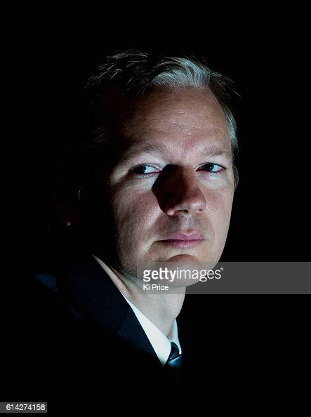 Publisher journalist and editorinchief of the website WikiLeaks Julian Assange is photographed for the Times on October 23 2010 in London England