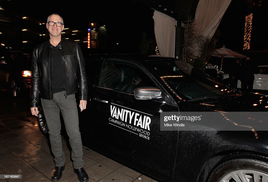 Publisher of Vanity Fair Edward Menicheschi attends Vanity Fair and L'Oréal Paris-hosted D.J. Night with Freida Pinto in support of 10 x 10 and 'Girl Rising' at Teddy's at The Hollywood Roosevelt Hotel on February 19, 2013 in Los Angeles, California.