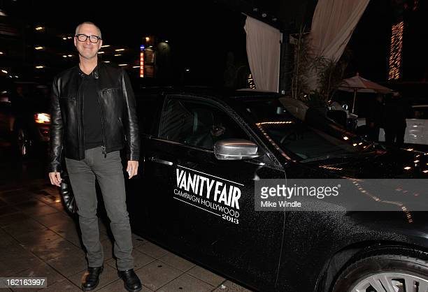 Publisher of Vanity Fair Edward Menicheschi attends Vanity Fair and L'Oréal Parishosted DJ Night with Freida Pinto in support of 10 x 10 and 'Girl...