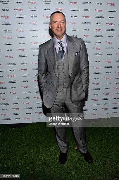 Publisher of Vanity Fair Edward Menicheschi attends Vanity Fair and the Chrysler brand Celebration of Les Misérables in support of The Los Angeles...