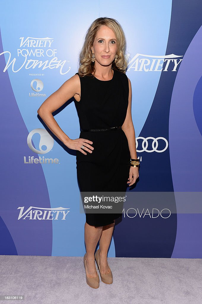 Publisher of Variety <a gi-track='captionPersonalityLinkClicked' href=/galleries/search?phrase=Michelle+Sobrino&family=editorial&specificpeople=3065766 ng-click='$event.stopPropagation()'>Michelle Sobrino</a> attends Variety's 5th Annual Power of Women event presented by Lifetime at the Beverly Wilshire Four Seasons Hotel on October 4, 2013 in Beverly Hills, California.