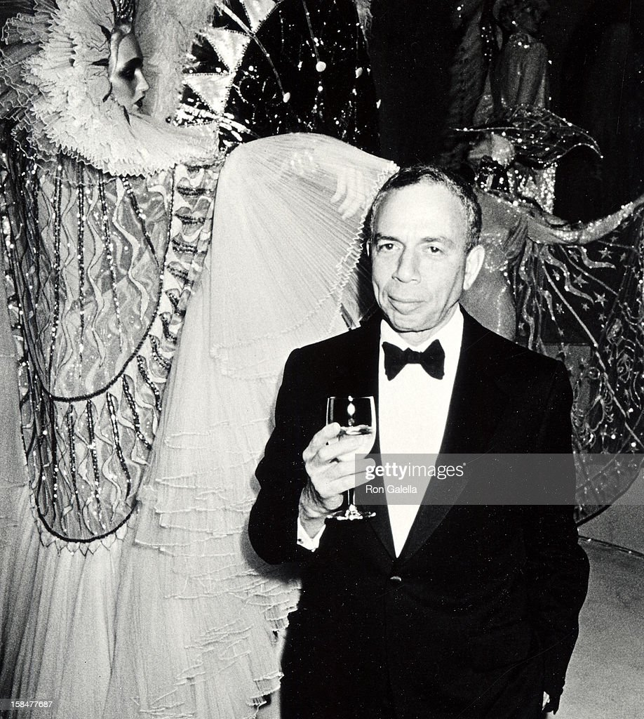 Publisher S.I. Newhouse Jr. attending 'A Decade of Literary Lions Benefit Gala' on November 8, 1990 at the New York Public Library in New York City, New York.