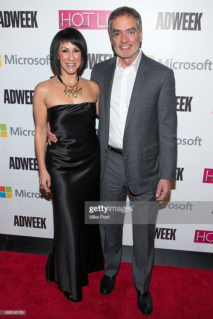 Publisher Suzan Gursoy (L) and Clear Channel CEO Bob Pittman attend the 2013 Adweek Hot List Gala at Capitale on December 2, 2013 in New York City.