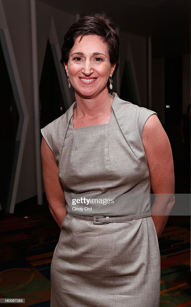 Publisher Suzanne Ruffa attends the Gotham Magazine & Moroccanoil Celebrate With Step Up Women's Network event on February 18, 2013 in New York City.