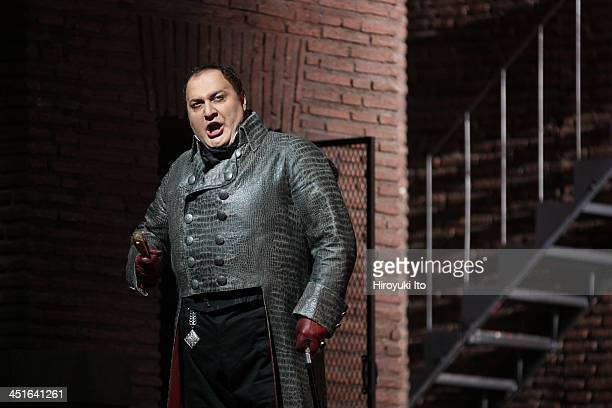 Puccini's 'Tosca' at the Metropolitan Opera House on Friday October 25 2013This imageGeorge Gagnidze