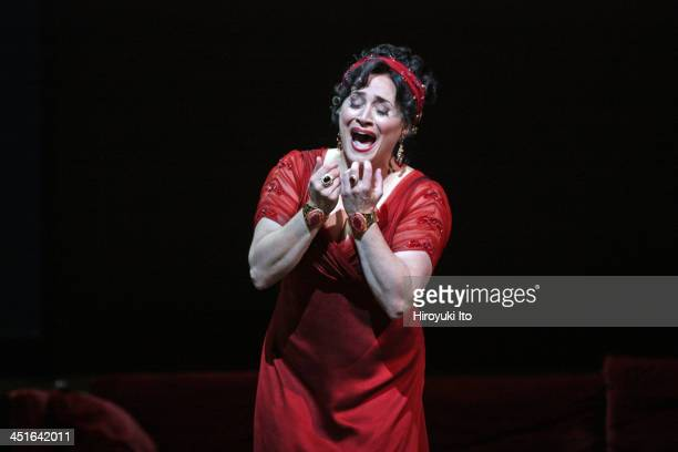 Puccini's 'Tosca' at the Metropolitan Opera House on Friday October 25 2013This imagePatricia Racette