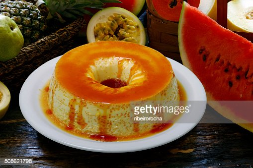 Pudding : Stock Photo