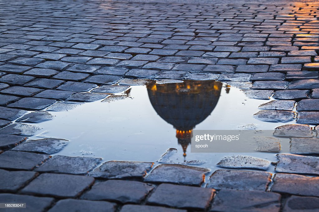 Puddle on Saint Peter's Square