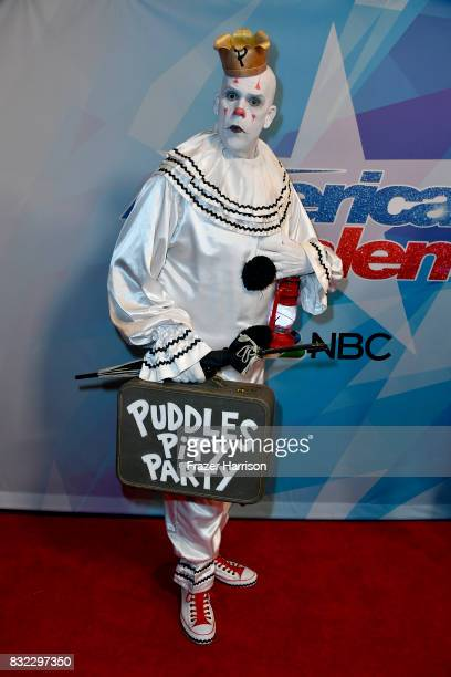 Puddles Pity Party attends the Premiere Of NBC's 'America's Got Talent' Season 12 at Dolby Theatre on August 15 2017 in Hollywood California