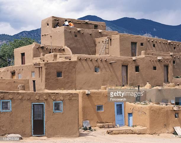 Pueblo de Taos, United States of America, Front View, Pan Focus