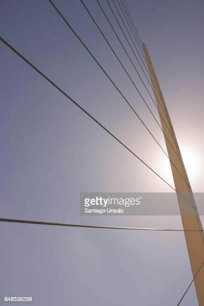 Puente De La Mujer (Women's Bridge) in Puerto Madero