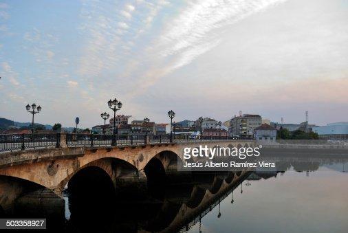 Puente sobre el rio Leréz