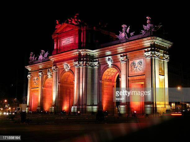 Puerta de Alcala (vue panoramique)-Madrid-événement spécial