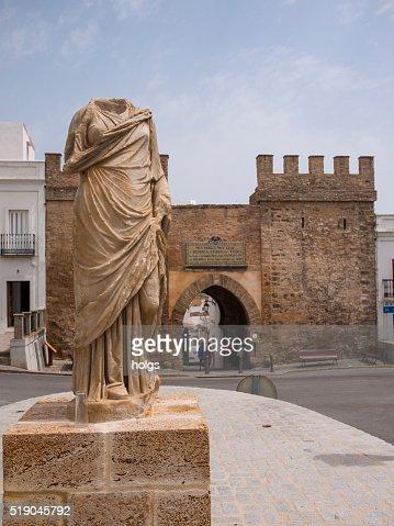 Puerta de Jerez in Tarifa in Andalusia, Spain