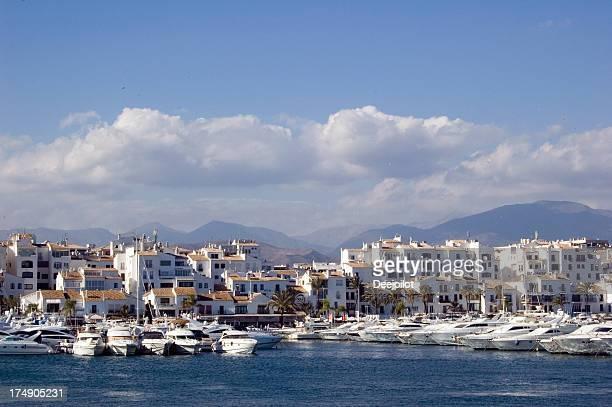 Puerto Banus Harbour and Marina in Spain