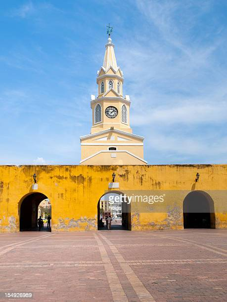 Puerto del Reloj Cartagena in Colombia