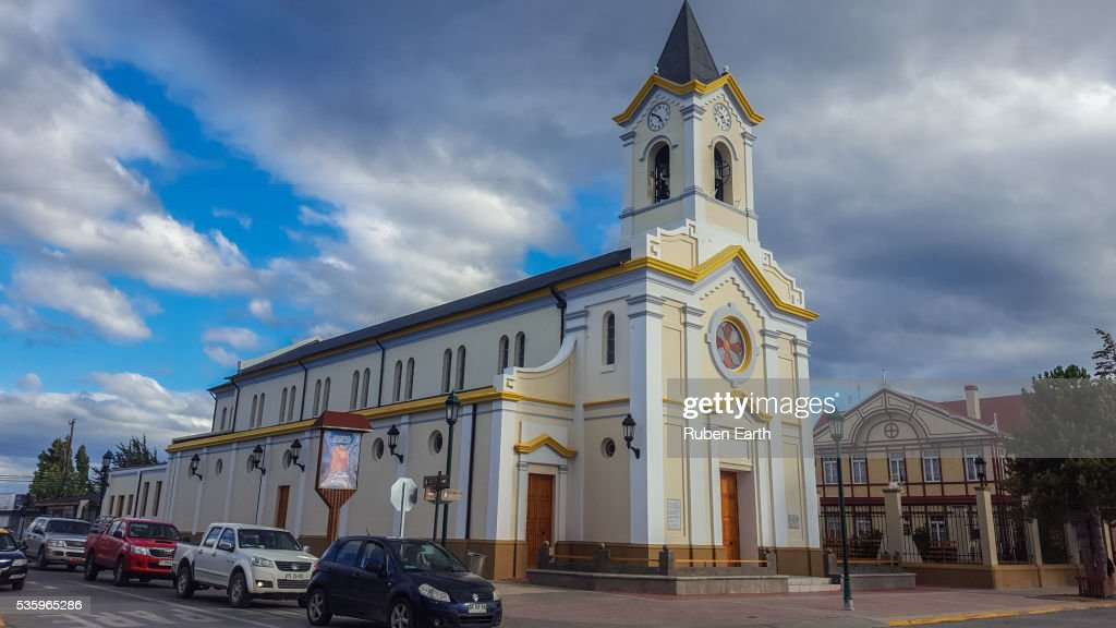 Puerto Natales Church : Stock Photo