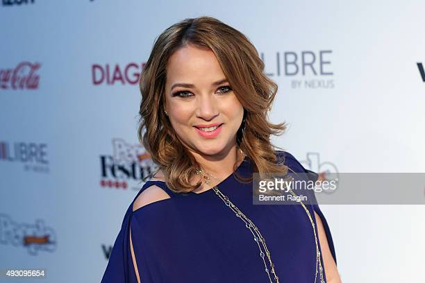 Puerto Rican actress Adamari Lopez attends Festival PEOPLE En Espanol 2015 presented by Verizon at Jacob Javitz Center on October 17 2015 in New York...